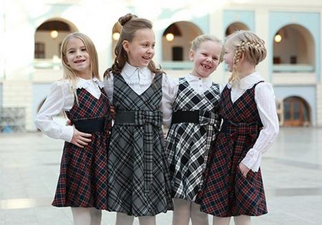 школьная форма для полных девочек
