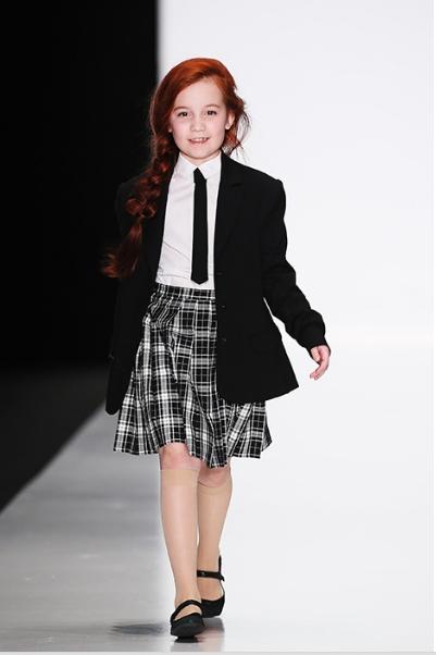 мода школьной формы